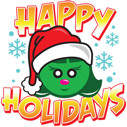 Happy Holidays Sticker Pack messages sticker-10
