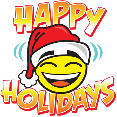 Happy Holidays Sticker Pack messages sticker-3