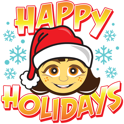 Happy Holidays Sticker Pack messages sticker-8