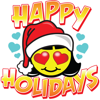 Happy Holidays Sticker Pack messages sticker-0
