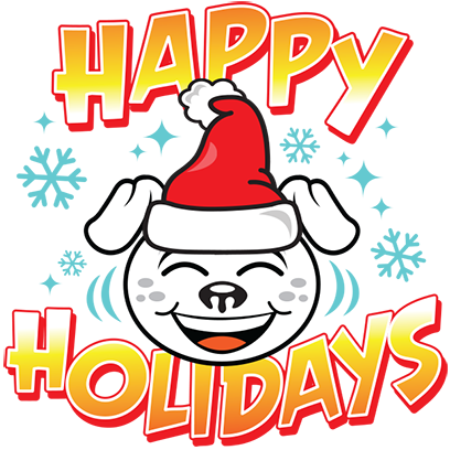 Happy Holidays Sticker Pack messages sticker-7