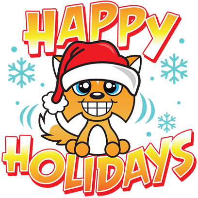 Happy Holidays Sticker Pack messages sticker-5