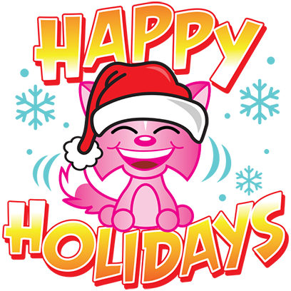 Happy Holidays Sticker Pack messages sticker-4
