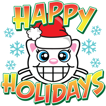 Happy Holidays Sticker Pack messages sticker-2