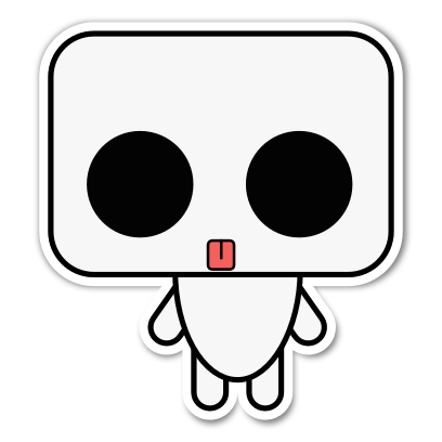 Ruby the Robot messages sticker-4