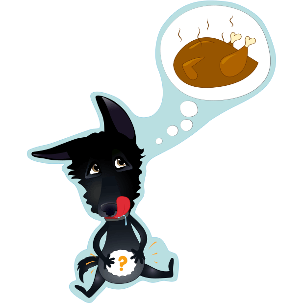 Nero the Black Dog Cute Funny Comic Pet Stickers messages sticker-10