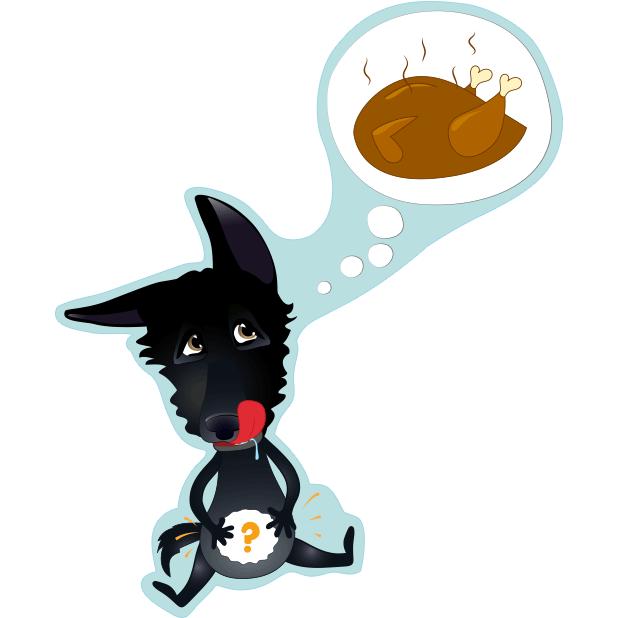 Nero the Black Dog messages sticker-10