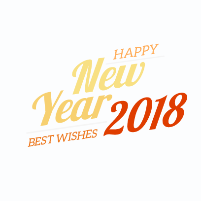 New Year Stickers for 2018 messages sticker-0
