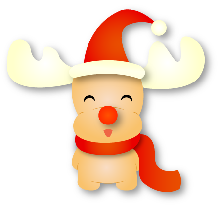 Rudolf - Christmas Emoji messages sticker-3