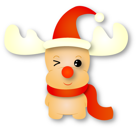 Rudolf - Christmas Emoji messages sticker-6