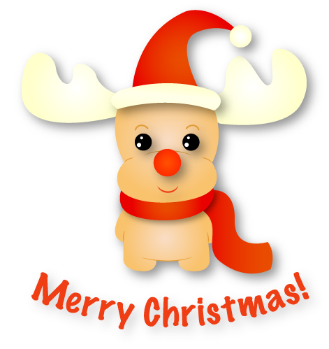 Rudolf - Christmas Emoji messages sticker-0