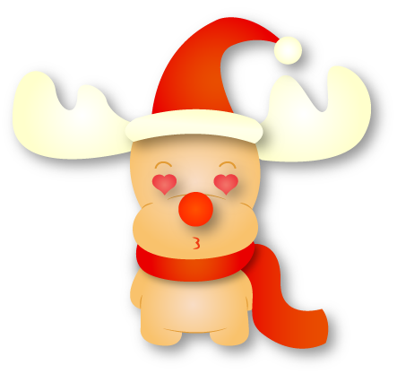 Rudolf - Christmas Emoji messages sticker-8