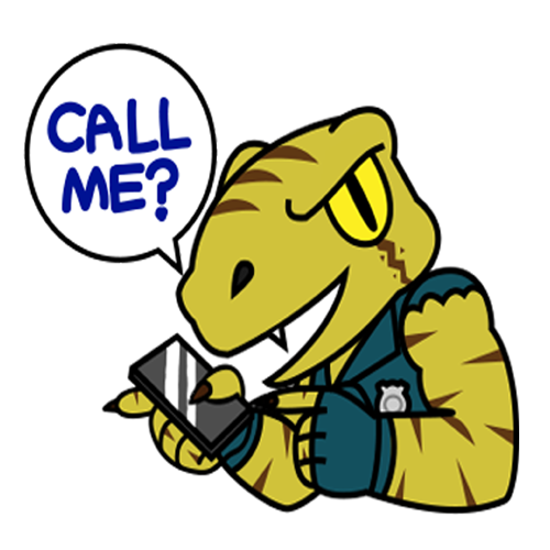 Raptor Cop Stickers messages sticker-4