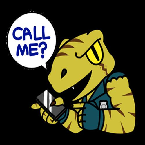 Raptor Cop Stickers messages sticker-4
