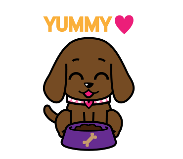 Miss Muddy Puppy messages sticker-4