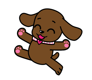 Miss Muddy Puppy messages sticker-5