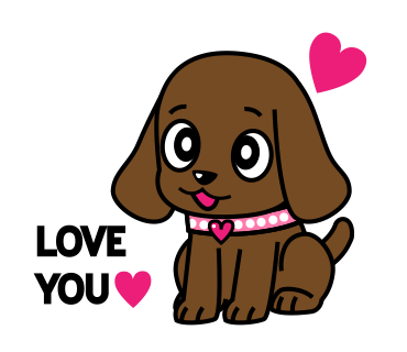 Miss Muddy Puppy messages sticker-0