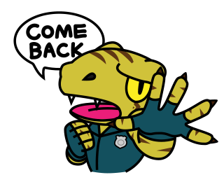 Raptor Cop Animated Stickers messages sticker-6