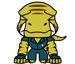 Raptor Cop Animated Stickers messages sticker-8