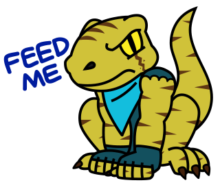 Raptor Cop Animated Stickers messages sticker-11