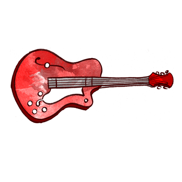 Jazzy Musical Instruments messages sticker-0