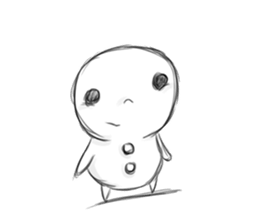 Xmas Of Lonely Snowman Stickers messages sticker-1