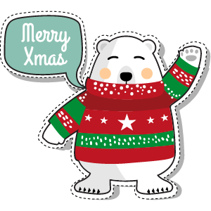 Merry Christmas - Christmas, Noel and Santa Claus messages sticker-3
