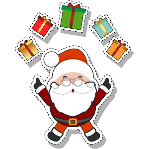 Merry Christmas - Christmas, Noel and Santa Claus messages sticker-8