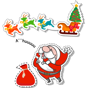 Merry Christmas - Christmas, Noel and Santa Claus messages sticker-4
