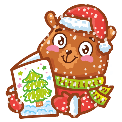 Holidays stickers! messages sticker-9