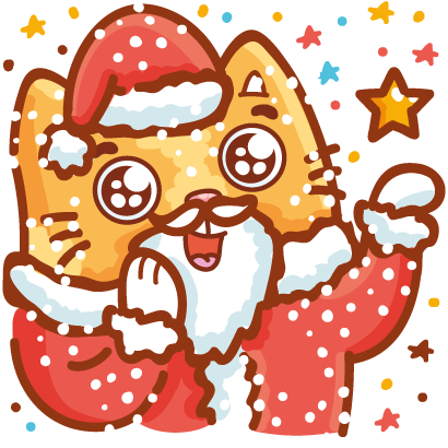 Holidays stickers! messages sticker-3