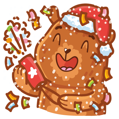 Holidays stickers! messages sticker-10
