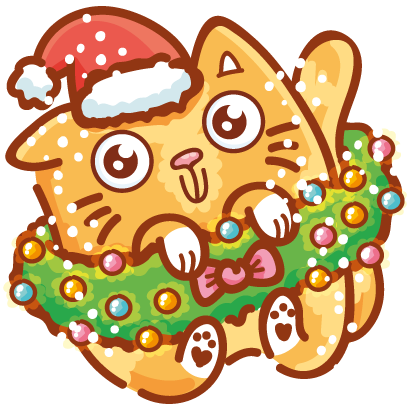 Holidays stickers! messages sticker-5