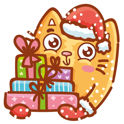 Holidays stickers! messages sticker-4