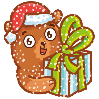 Holidays stickers! messages sticker-11