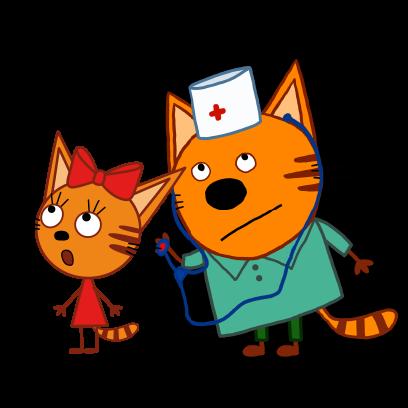 Kid-E-Cats: Winter messages sticker-9