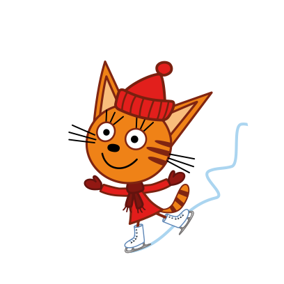 Kid-E-Cats: Winter messages sticker-5