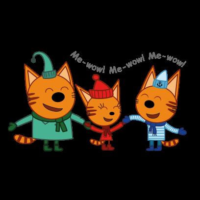 Kid-E-Cats: Winter messages sticker-6
