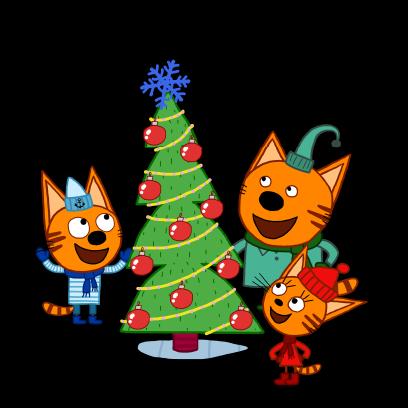 Kid-E-Cats: Winter messages sticker-11