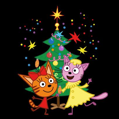 Kid-E-Cats: Winter messages sticker-10