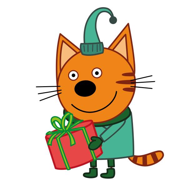 Kid-E-Cats: Christmas messages sticker-7