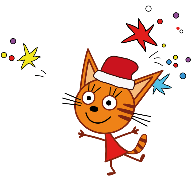 Kid-E-Cats: Christmas messages sticker-8
