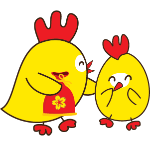 Happy New Year 2017 - Year of the Rooster messages sticker-9