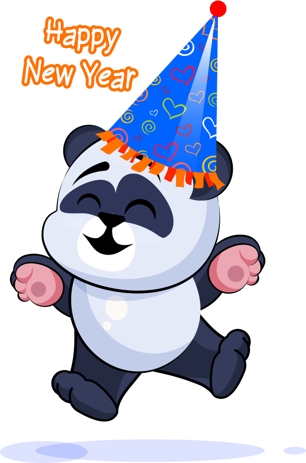 Happy New Year | apptec messages sticker-2