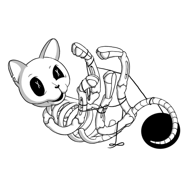 Bonycat messages sticker-1