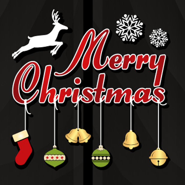 Holiday Stickers: Christmas & New Years messages sticker-8