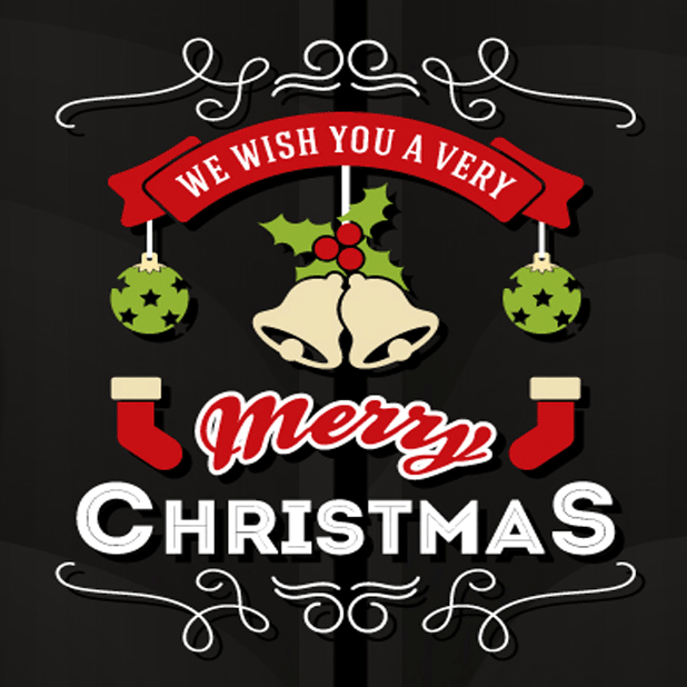 Holiday Stickers: Christmas & New Years messages sticker-3