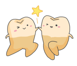 Baby Cute Tooth Stickers messages sticker-11