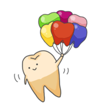 Baby Cute Tooth Stickers messages sticker-0
