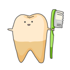 Baby Cute Tooth Stickers messages sticker-4